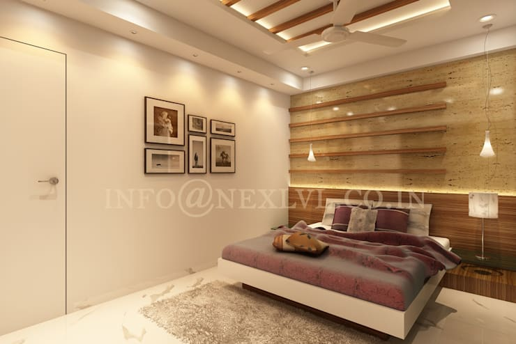MR.JAYESH KALA'S RESIDENCE :   by NEX LVL DESIGNS PVT. LTD.