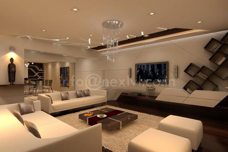 MR.OM JANGID'S RESIDENCE:   by NEX LVL DESIGNS PVT. LTD.