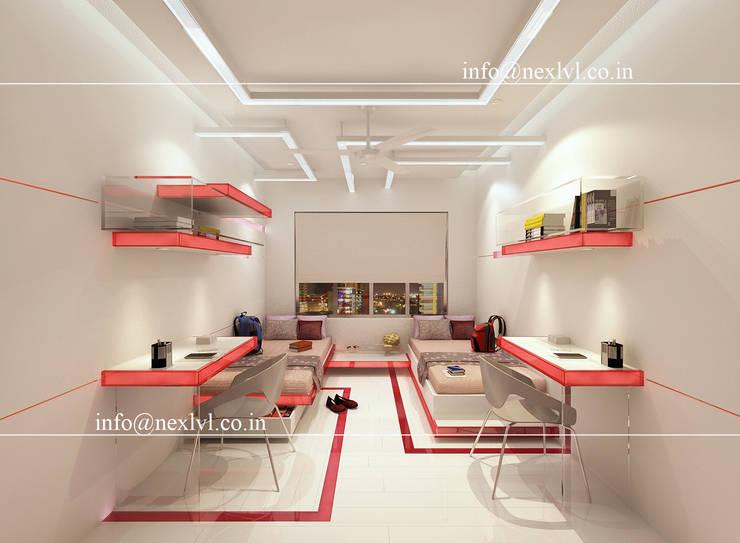 MR.SHIV RATAN'S RESIDENCE:   by NEX LVL DESIGNS PVT. LTD.