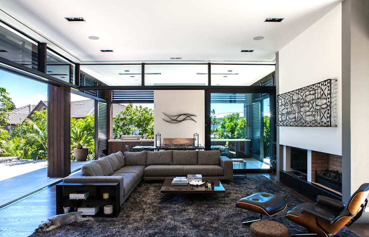 Гостиная в . Автор – Dorrington Atcheson Architects