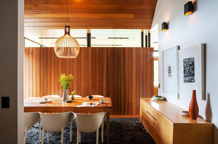 Dining room by Dorrington Atcheson Architects