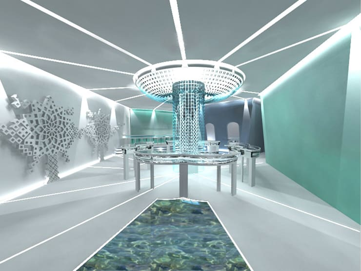 tiffany and Co. (concept project):  Commercial Spaces by Dimensions