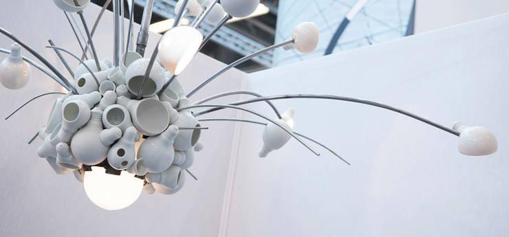 Suspension SuperNova: Art de style  par Atelier Ceramics d. - Delphine Millet