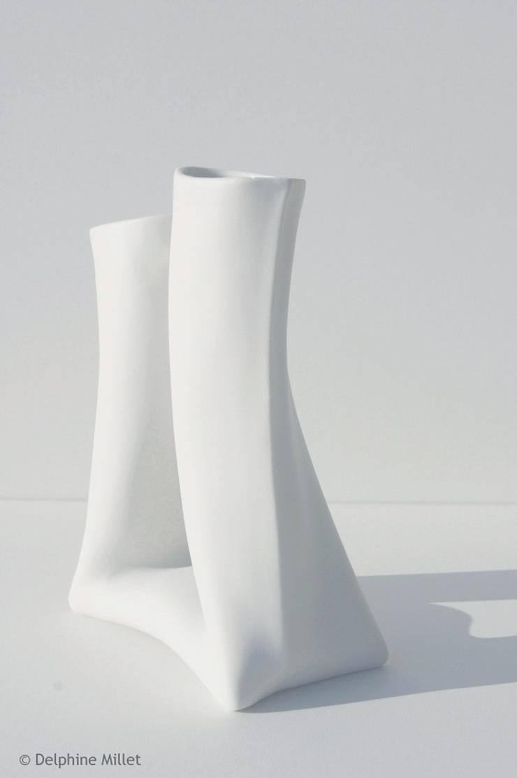 Vases KOMA: Art de style  par Atelier Ceramics d. - Delphine Millet