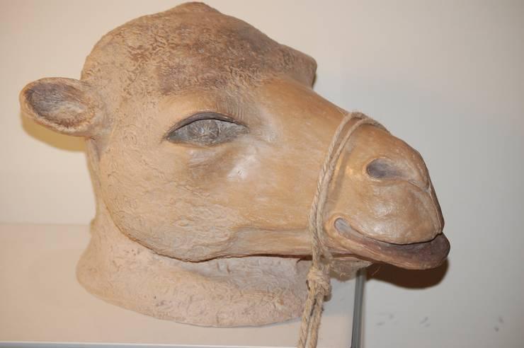 tête de chameau: Art de style  par GUENOLEE COURCOUX