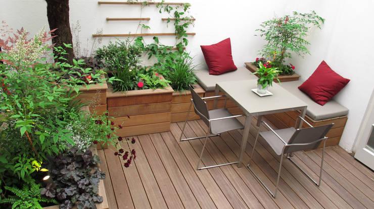 Jardines de estilo  por Fenton Roberts Garden Design
