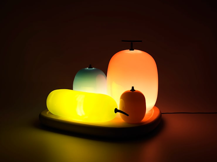 Fruits Table Lamp โดย S&O DESIGN
