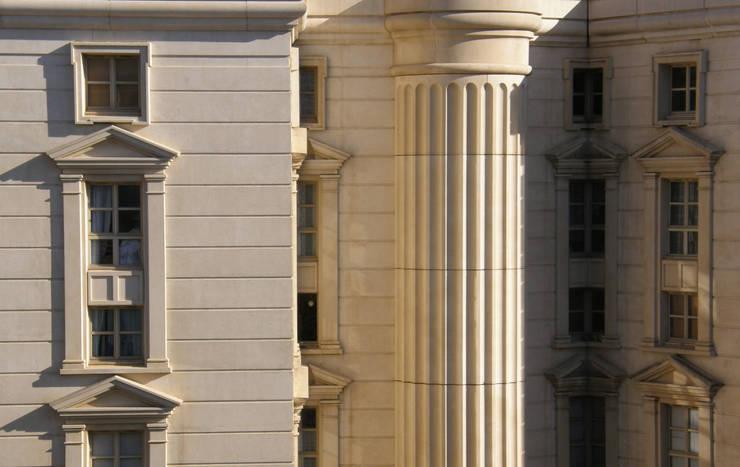 La Place du Nombre d'Or:  de estilo  de Ricardo Bofill Taller de Arquitectura