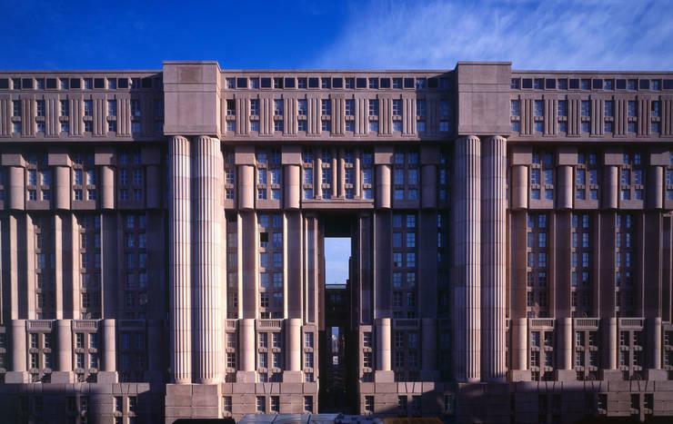 Les Espaces d'Abraxas:  de estilo  de Ricardo Bofill Taller de Arquitectura