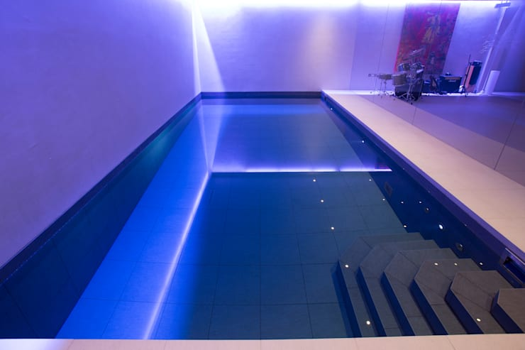 Gold Award Winning Subterranean Pool :  Pool by London Swimming Pool Company