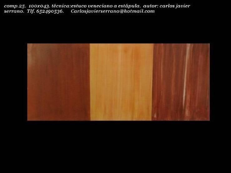 MURALES REALIZADOS CON ESTUCO VENECIANO : Arte de estilo  de Básico Veneciano,Arte Decorativo