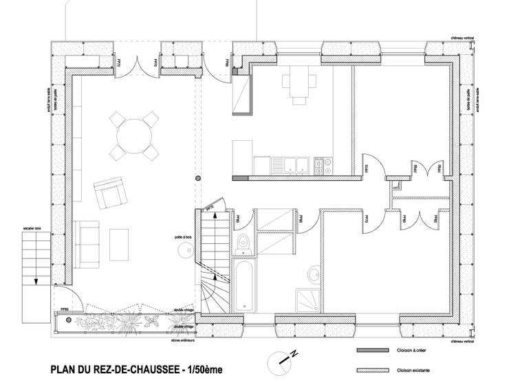 maison, Le Mans:  de style  par Alexis Demanche
