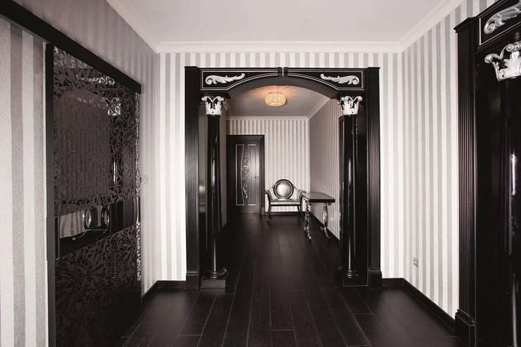 Showroom Madrid (Orense str.):  de estilo  de INTERIORES DE LUJO