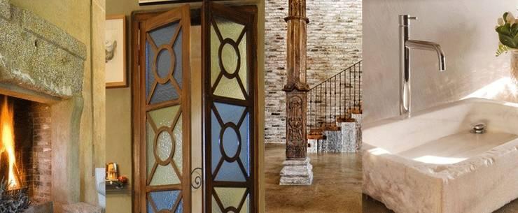 6 ideas que darán carácter a tu casa.: Casas de estilo  de Anticuable.com