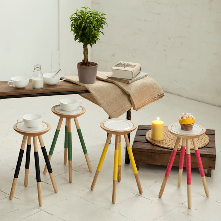 Tea for one table:  Living room by Design K