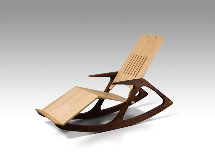 Lounge Chair: OAKLAB의  거실