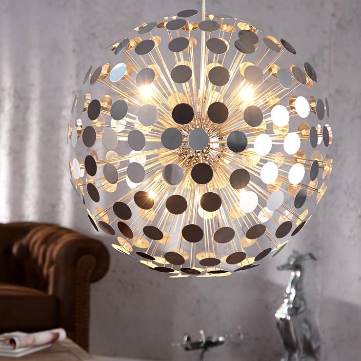 """Lounge Design Hängeleuchte """"Universum"""":  Wohnzimmer von XTRADEFACTORY GMBH"""