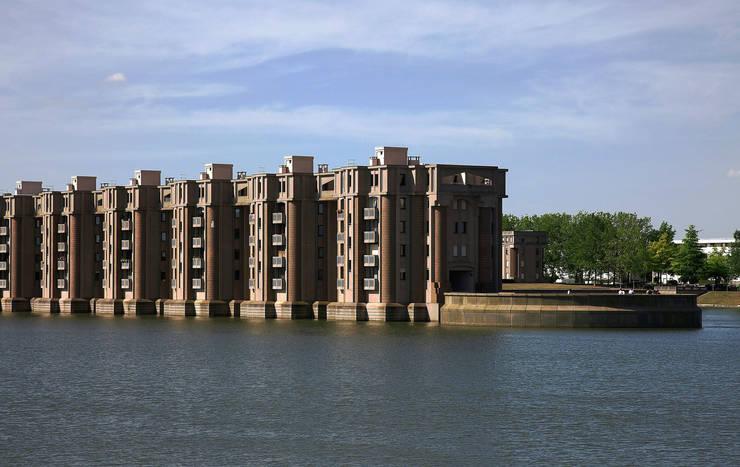 Les Arcades du Lac:  de estilo  de Ricardo Bofill Taller de Arquitectura