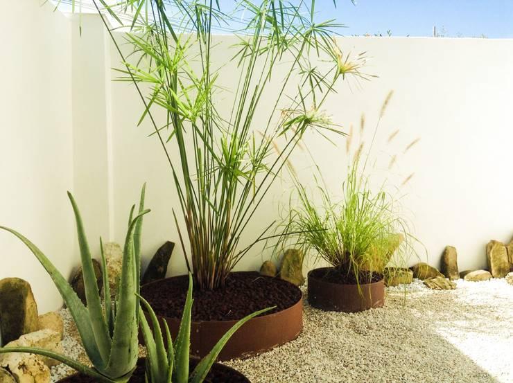 Nuntribel-Zen Garden: Giardino in stile  di jnumeroverde,