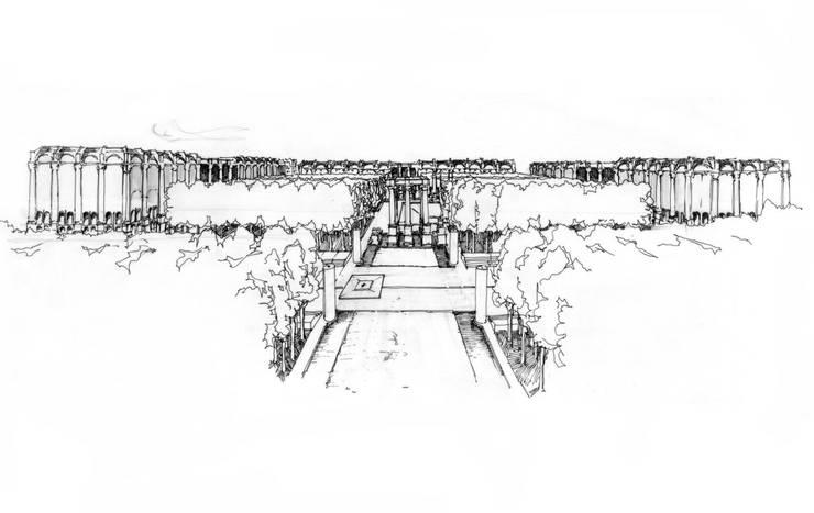 Les Halles:  de estilo  de Ricardo Bofill Taller de Arquitectura