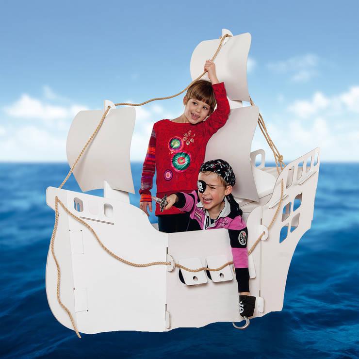 Projekty,  Pokój dziecięcy zaprojektowane przez Calafant