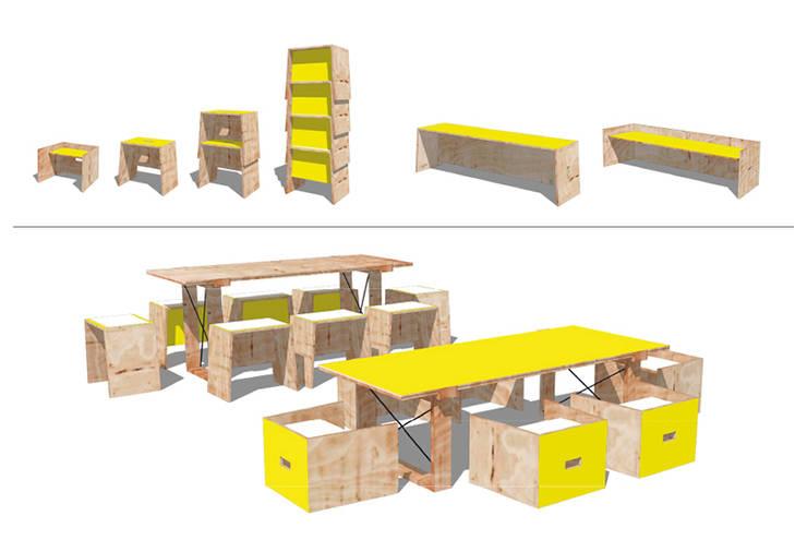 de estilo  de HECKHAUS GmbH & Co. KG, Moderno
