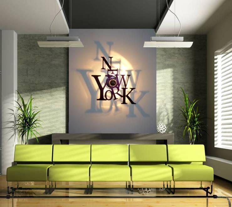 LUMINAIRE DESIGN: Salle à manger de style  par SAINT YORK DESIGN