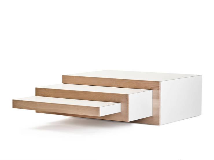 REK salontafel (beuken):  Woonkamer door Reinier de Jong Design