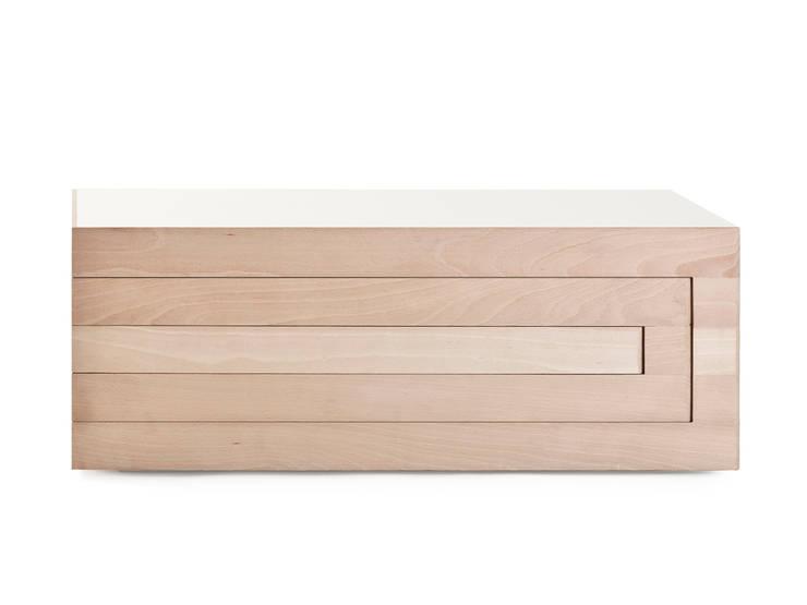 Salon Tafel Beuken.Rek Salontafel Beuken Door Reinier De Jong Design Homify