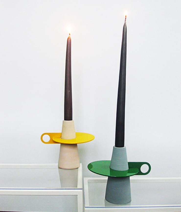 Afelio candle holder:  in stile  di Lucio Curcio Designer, Minimalista