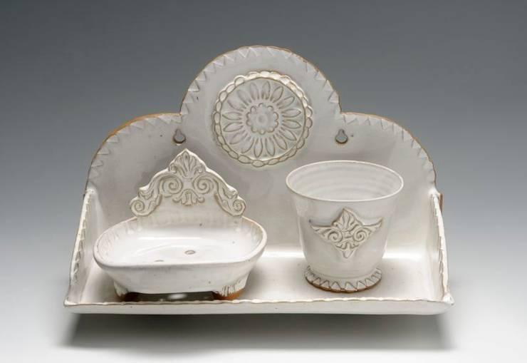 Ensemble Salle de bains: Salle de bain de style  par Nine Céramique