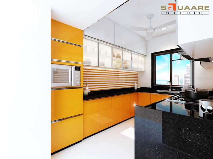 Kitchen units by Squaare Interior