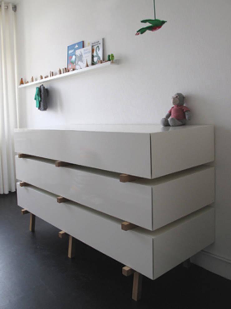 lattenkast:  Kinderkamer door designstudio lotte van laatum