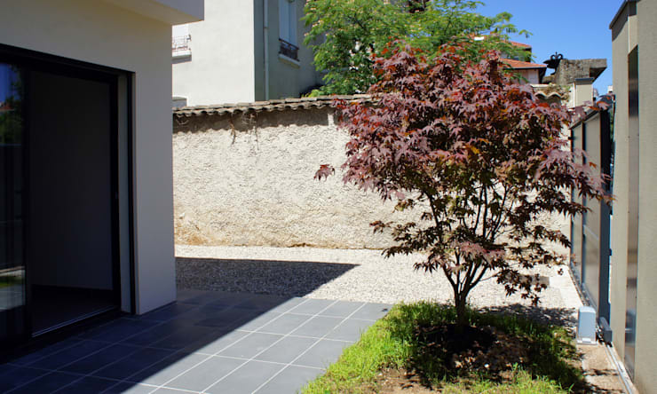 Villa Scope (part2): Maison de style  par Stephane Giraud Architecte