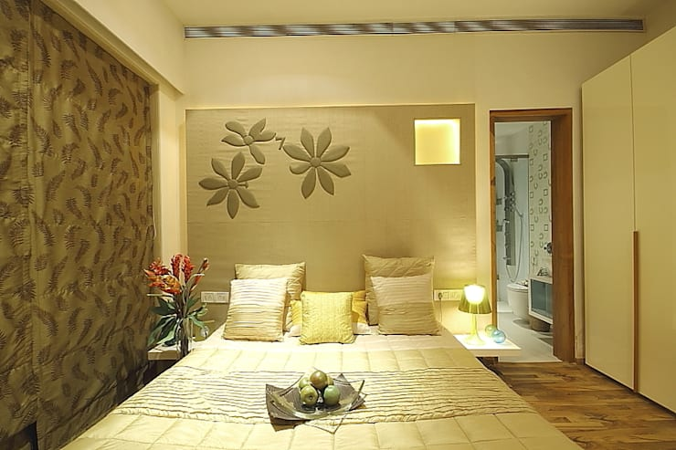 GUEST / KIDS ROOM:  Houses by shahen mistry architects