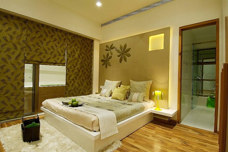 GUEST/ KIDS ROOM: modern Houses by shahen mistry architects