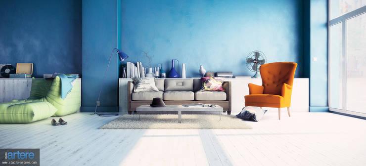 Wohnzimmer von Studio Artere