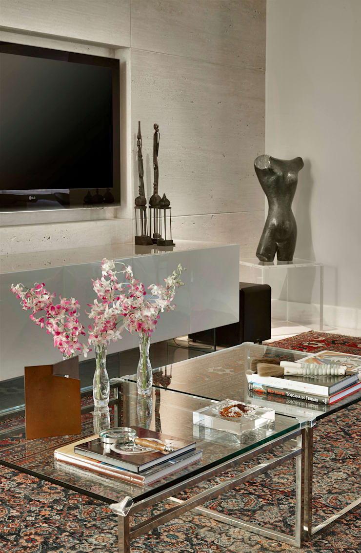 Apartamento Belvedere:   por Gislene Lopes Arquitetura e Design de Interiores