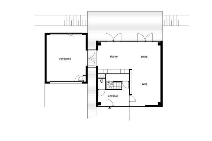 Villa Nieuw Oosteinde:   door Engel Architecten