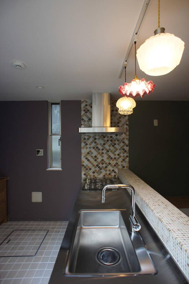 SPRAY: 空間社(Kukansha)が手掛けたキッチンです。