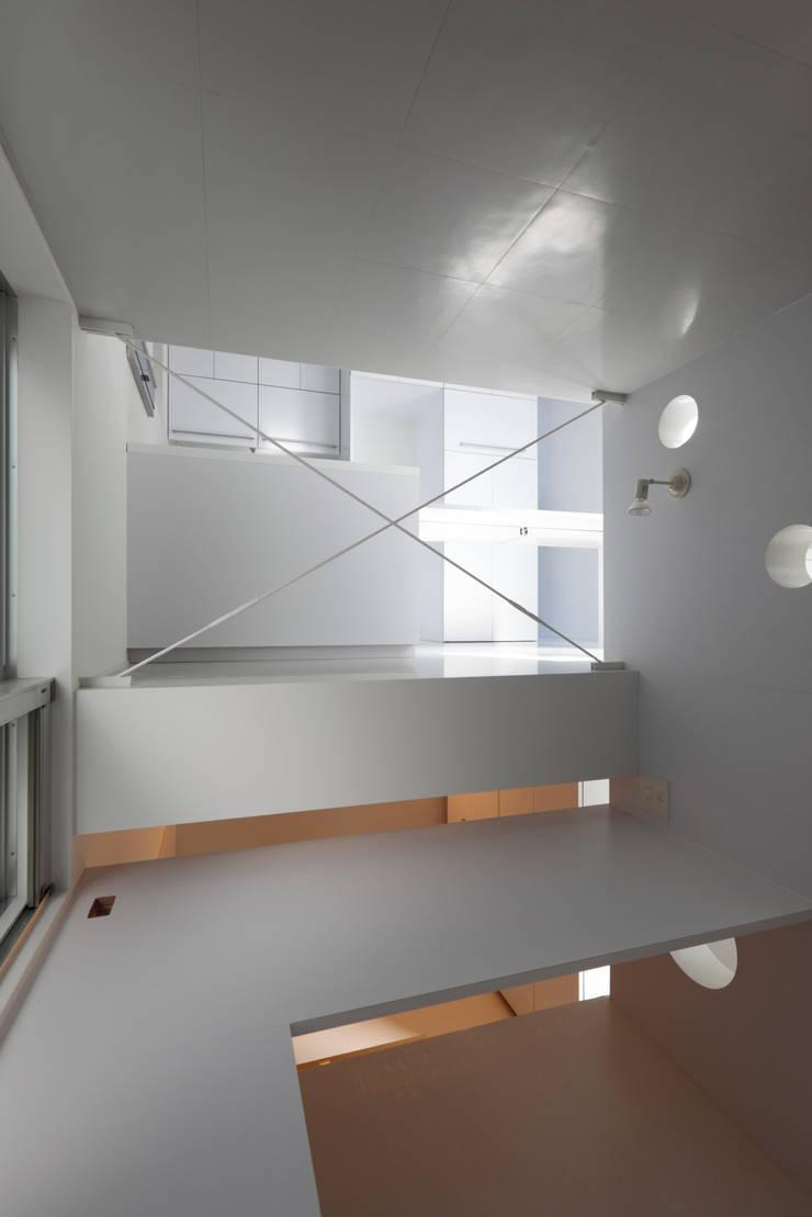Staircase: インタースペース・アーキテクツ一級建築士事務所が手掛けたです。,