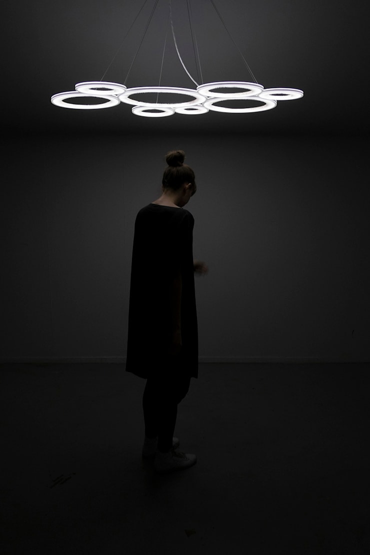 Dark Matter – A collection of lights:  Woonkamer door Studio Truly Truly