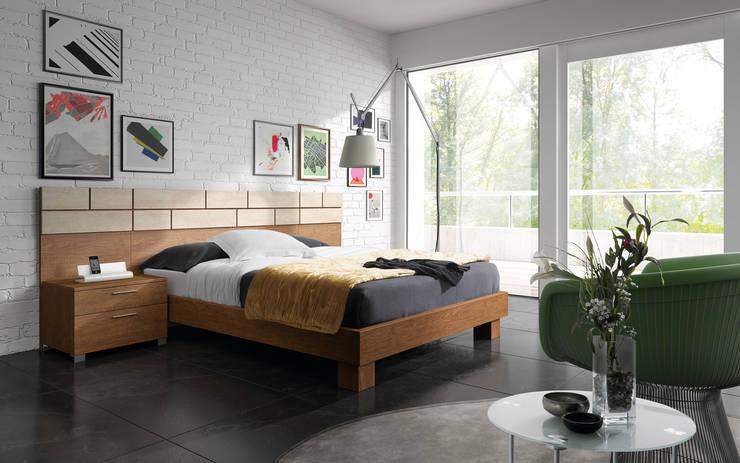 Projekty,  Sypialnia zaprojektowane przez Baixmoduls
