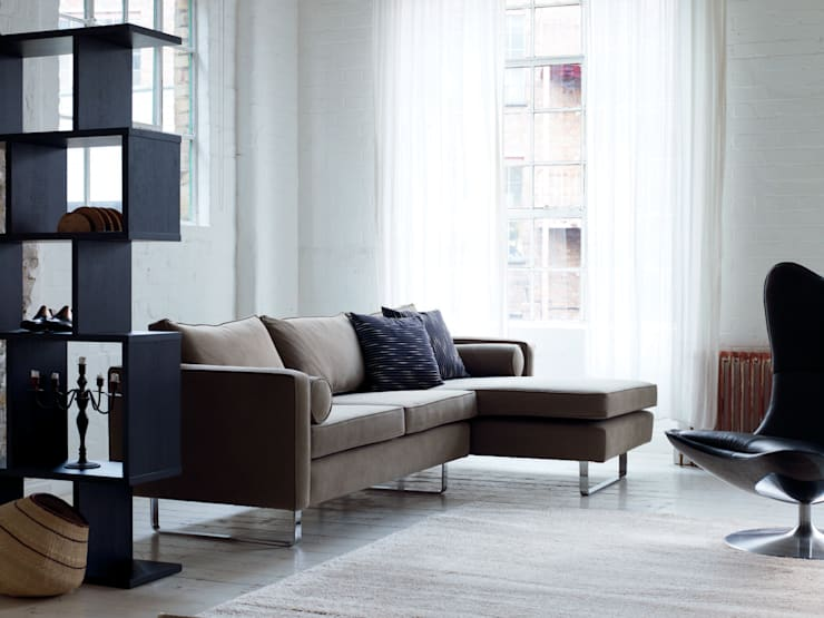 Sofas:  Living room by Content by Conran