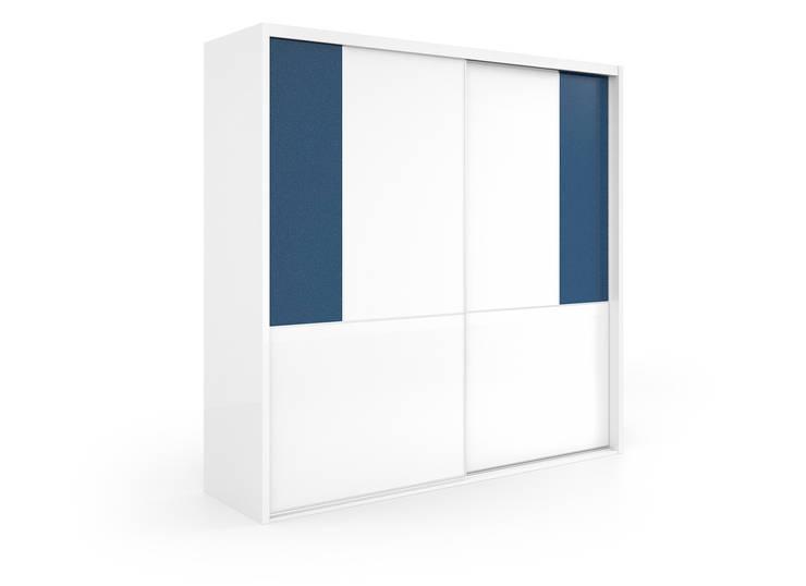 Armarios puertas correderas: Dormitorios de estilo  de Baixmoduls