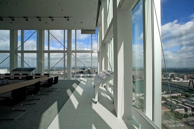 maastoren:  Kantoorgebouwen door Dam & Partners Architecten, Modern