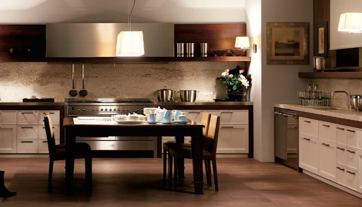 Estilo Vintage- BANNI Elegant Home: Casas de estilo  de BANNI Elegant Home