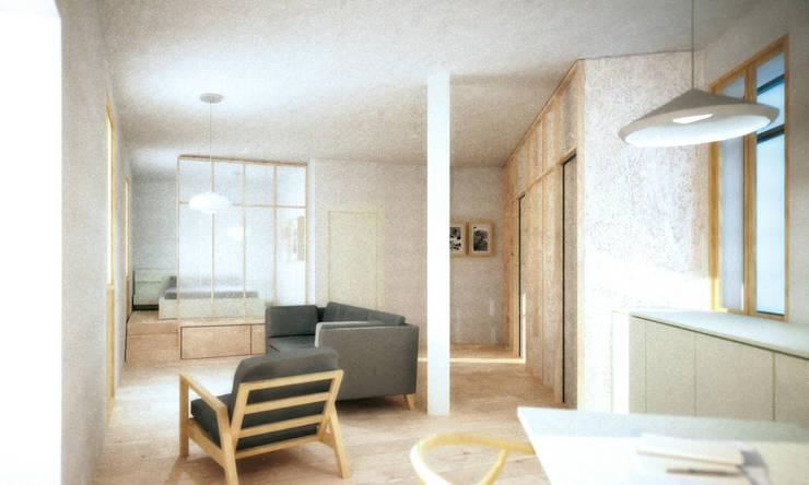 propuesta B: Casas de estilo  de *escribanorosique arquitectos