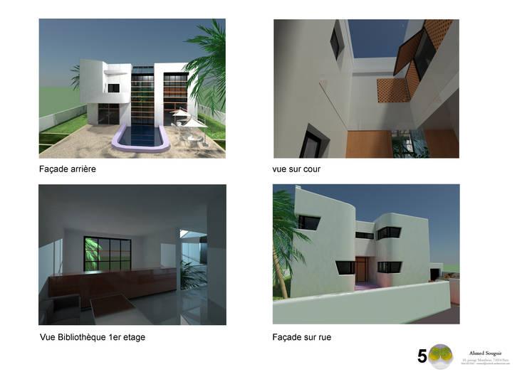 Maison Bioclimatique:  de style  par Ecotech-Architecture
