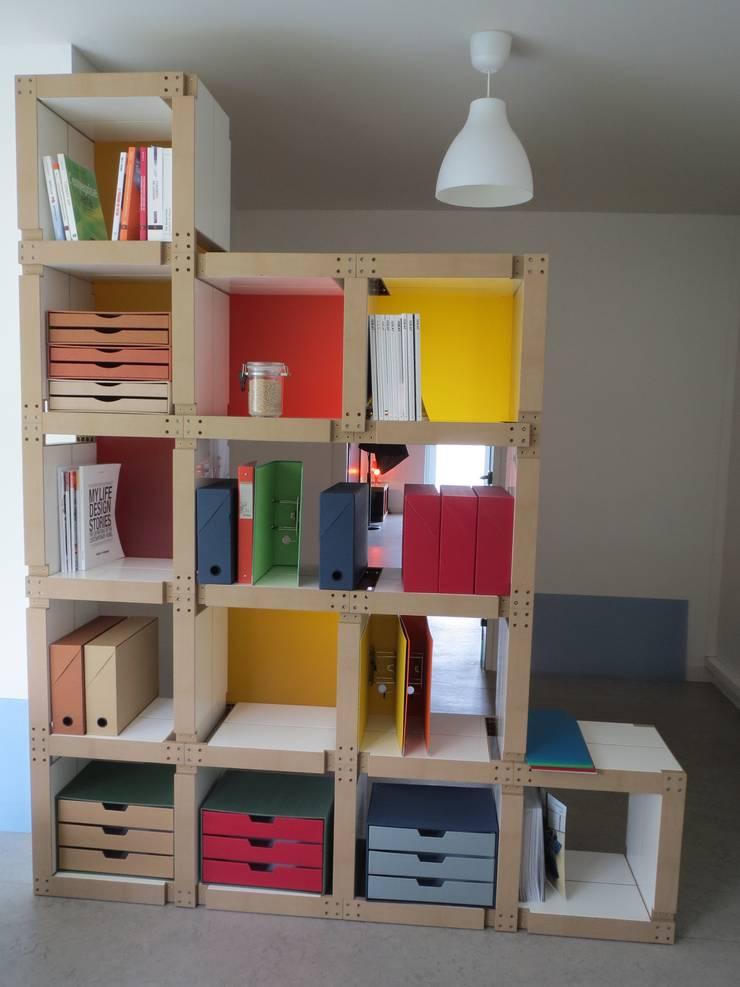 Bibliothèques: Maison de style  par  Fabulem